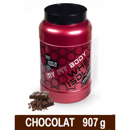 Isolat Lactoserum WHEY ISOLATE Construction Musculaire Gamme Access Saveur Chocolat 907g