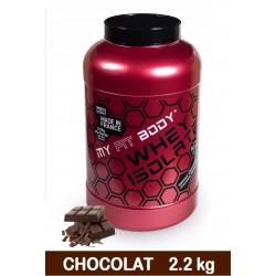 Isolat Lactoserum WHEY ISOLATE Construction Musculaire Gamme Access Saveur Chocolat 2200g